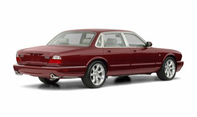 3/4 Rear Glamour  2002 Jaguar XJR