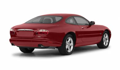 3/4 Rear Glamour  2002 Jaguar XK8