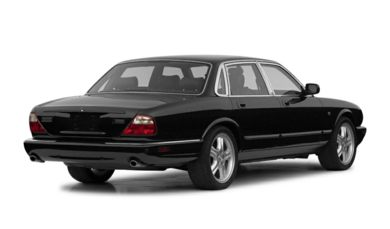 3/4 Rear Glamour  2002 Jaguar XJ8
