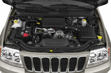 Engine Bay  2002 Jeep Grand Cherokee