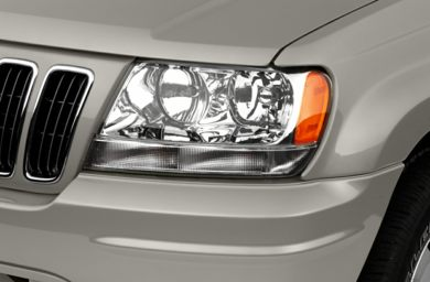 Headlamp  2002 Jeep Grand Cherokee