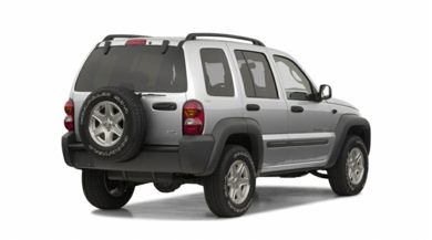 3/4 Rear Glamour  2002 Jeep Liberty
