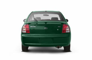 Rear Profile  2002 Kia Spectra