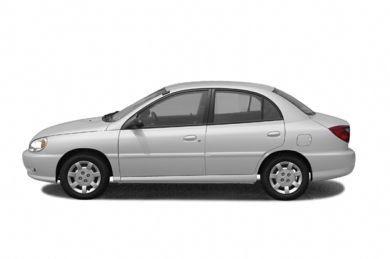 90 Degree Profile 2002 Kia Rio