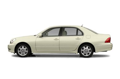 90 Degree Profile 2002 Lexus LS 430