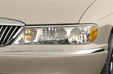 Headlamp  2002 Lincoln Continental