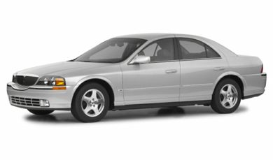 3/4 Front Glamour 2002 Lincoln LS