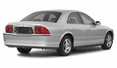 3/4 Rear Glamour  2002 Lincoln LS
