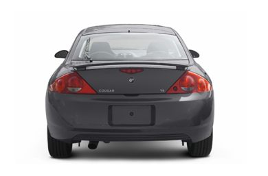 Rear Profile  2002 Mercury Cougar