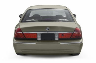 Rear Profile  2002 Mercury Grand Marquis