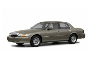3/4 Front Glamour 2002 Mercury Grand Marquis