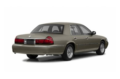 3/4 Rear Glamour  2002 Mercury Grand Marquis