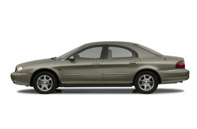 90 Degree Profile 2002 Mercury Sable