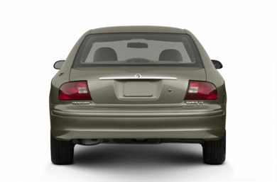 Rear Profile  2002 Mercury Sable