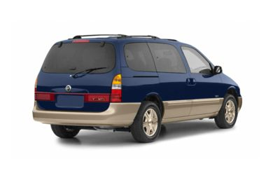 3/4 Rear Glamour  2002 Mercury Villager