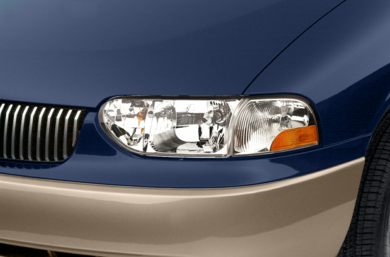 Headlamp  2002 Mercury Villager