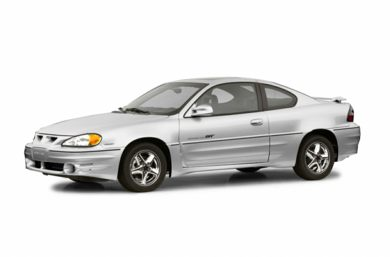 3/4 Front Glamour 2002 Pontiac Grand Am
