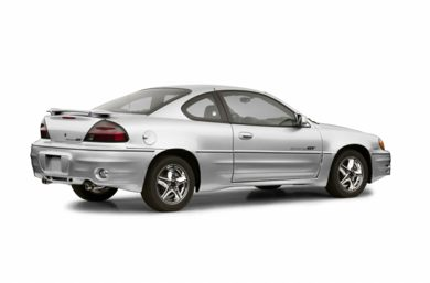 3/4 Rear Glamour  2002 Pontiac Grand Am