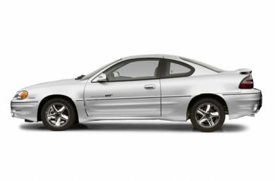 90 Degree Profile 2002 Pontiac Grand Am