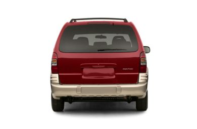 Rear Profile  2002 Pontiac Montana