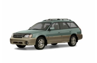 3/4 Front Glamour 2002 Subaru Outback