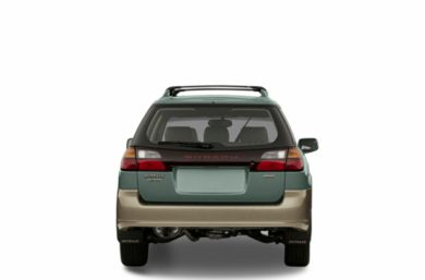 Rear Profile  2002 Subaru Outback