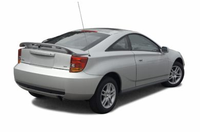 3/4 Rear Glamour  2002 Toyota Celica