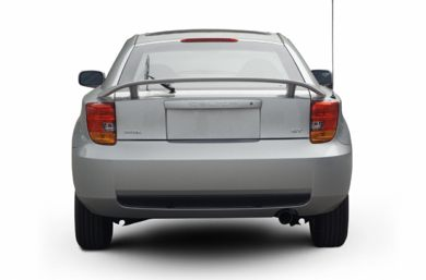 Rear Profile  2002 Toyota Celica