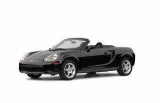 3/4 Front Glamour 2002 Toyota MR2 Spyder