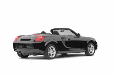 3/4 Rear Glamour  2002 Toyota MR2 Spyder