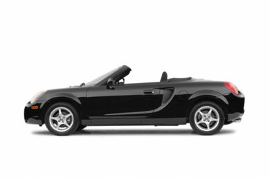 90 Degree Profile 2002 Toyota MR2 Spyder