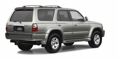 3/4 Rear Glamour  2002 Toyota 4Runner