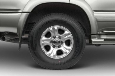 Tires 2002 Toyota 4Runner