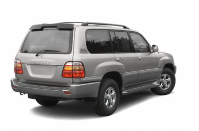 3/4 Rear Glamour  2002 Toyota Land Cruiser