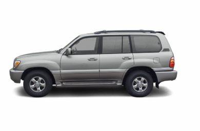 90 Degree Profile 2002 Toyota Land Cruiser