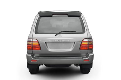Rear Profile  2002 Toyota Land Cruiser
