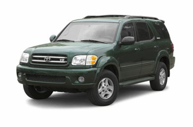 3/4 Front Glamour 2002 Toyota Sequoia