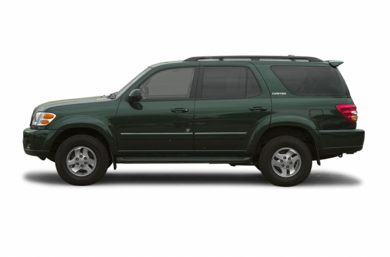 90 Degree Profile 2002 Toyota Sequoia