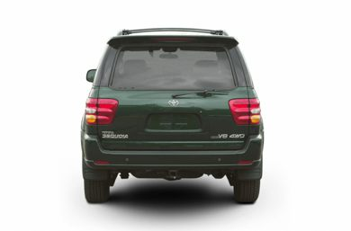 Rear Profile  2002 Toyota Sequoia