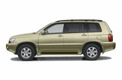 90 Degree Profile 2002 Toyota Highlander