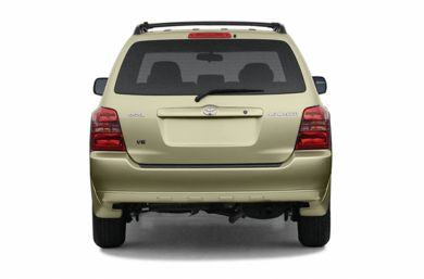 Rear Profile  2002 Toyota Highlander