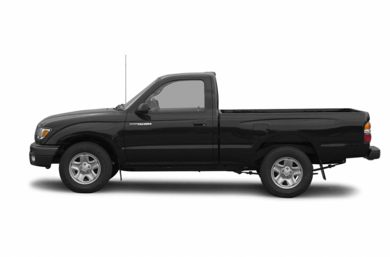 90 Degree Profile 2002 Toyota Tacoma