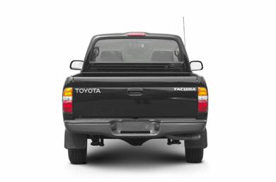 Rear Profile  2002 Toyota Tacoma