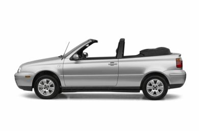 90 Degree Profile 2002 Volkswagen Cabrio