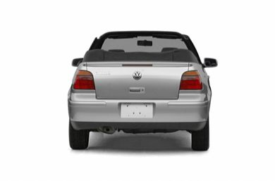 Rear Profile  2002 Volkswagen Cabrio