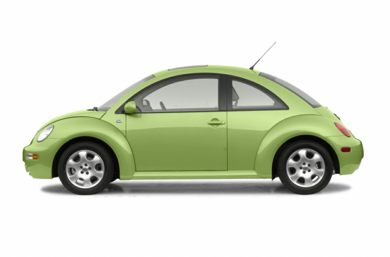 90 Degree Profile 2002 Volkswagen New Beetle