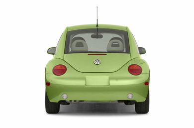 Rear Profile  2002 Volkswagen New Beetle