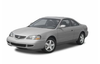 3/4 Front Glamour 2003 Acura CL