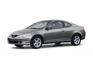 3/4 Front Glamour 2003 Acura RSX