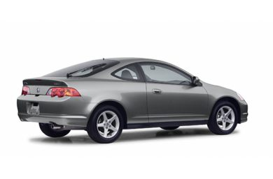 3/4 Rear Glamour  2003 Acura RSX